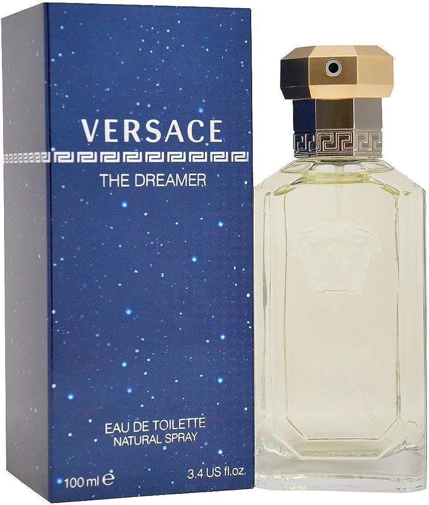 Versace the dreamer eau de toilette uomo man spray 100 ml 8015150274166