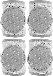 Baby Knee Pads for Crawling,2 pair Toddler Anti-slip Adjustable Kneepads