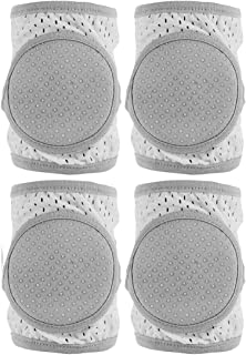 Baby Knee Pads for Crawling,2 pair Toddler Anti-slip Adjustable Kneepads
