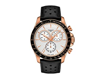 Tissot V8 Chrono Quartz T1064173603100 (Rose Gold) Watches