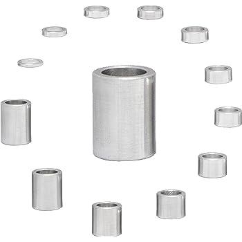 Casquillos distanciadores de aluminio M8 /Ø interior 8,5 mm casquillos distanciadores hembra distanciadores de casquillos di/ámetro exterior 15 mm FASTON 4 unidades