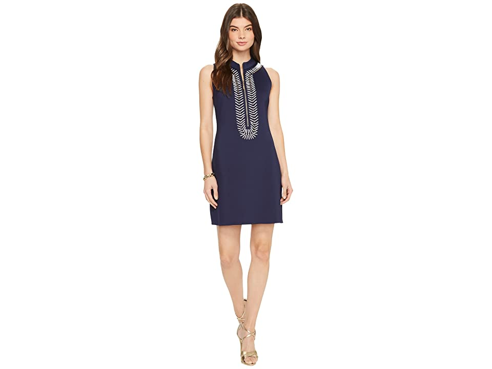 Lilly Pulitzer Opal Shift Dress (True Navy) Women
