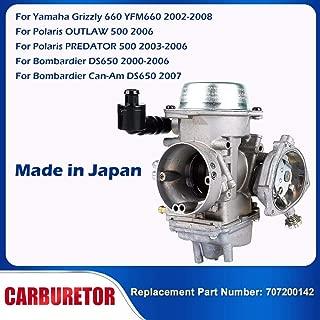 Motorcycle ATV Carburetor Carb For Yamaha Grizzly 660 YFM660 2002-2008 Polaris OUTLAW 500 2006