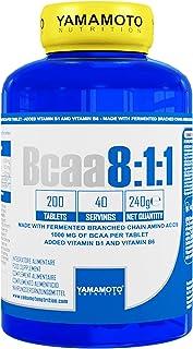 Yamamoto Nutrition BCAA 8: 1: 1 Suplemento Dietético - 200 Tabletas