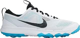 Nike FI Bermuda Spikeless Golf Shoes 2016 White/Omega Blue/Black Medium 8.5
