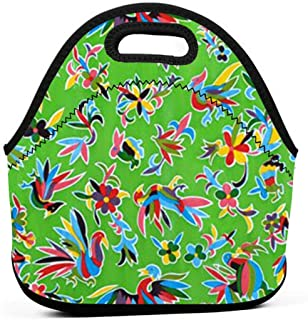 Lunch Bag Oilcloth -Thanksgiving, Halloween Water Resistant Portable Kids Lunch Tote Bag