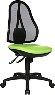 Topstar OP200G05 Open Point SY - Silla de Escritorio de Oficina, Color Verde