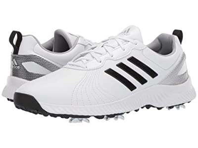 adidas Golf Response Bounce (Footwear White/Core Black/Silver Metallic) Women