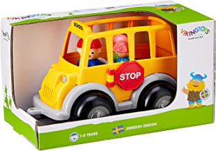 Viking Toys Midi School Bus with 3 Figures