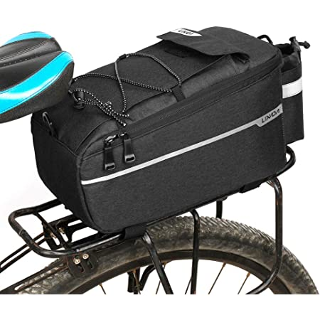 Insulated Trunk Cooler Bag Bicycle Rear Rack Storage Luggage MTB Shoulder Bag