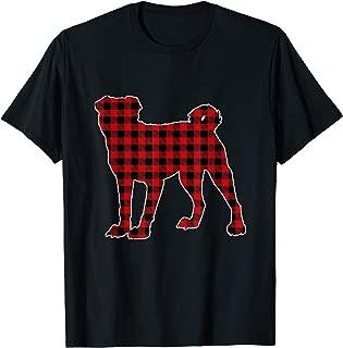 Chinese Shar-Pei Christmas Shirt Dog Buffalo Plaid T-Shirt