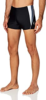 Men's Swimsuit Square Leg Splice
