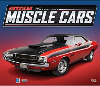 American Muscle Cars Wall Calendar, Muscle Cars | Hot Rods by BrownTrout