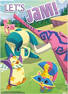 Animal Jam Party Invitation Cards, 1 Pack