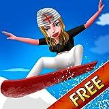 Nurse Vacation Winter Fun : スノーボード冷たいスポーツ少女の週末