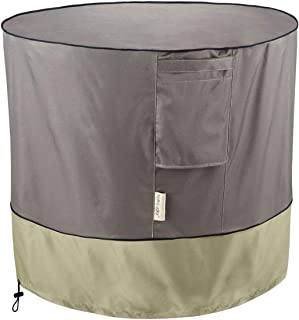 KylinLucky Air Conditioner Cover for Outside Units - AC Covers Fits up to 34 x 30 inches (Round)
