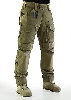 ZAPT Tactical Molle Ripstop Combat Trousers Army Multicam/A-TACS LE Camo Pants for Men