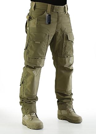 a80e458fb552f ZAPT Tactical Molle Ripstop Combat Trousers Army Multicam A-TACS LE Camo  Pants for