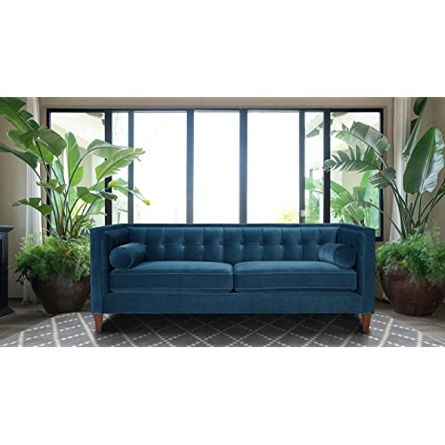 Teal Contemporary Couches and Sofas: Amazon.com