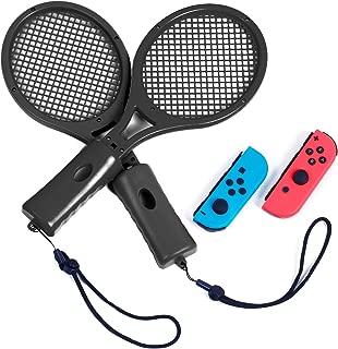 Tennis Racket for Nintendo Switch Mario Tennis Aces, Tennis Racket for Nintendo Switch Joy-Con Controller - Black