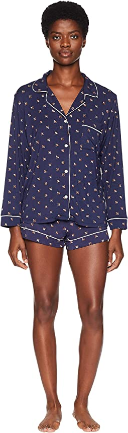 Tulipan - The Long Sleeve Short Pajama Set