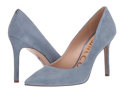 Sam Edelman Hazel (Smokey Blue Suede Leather) Women
