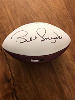 Kansas State Bill Snyder Hand Autographed Signed Football Authentic Autograph JSA