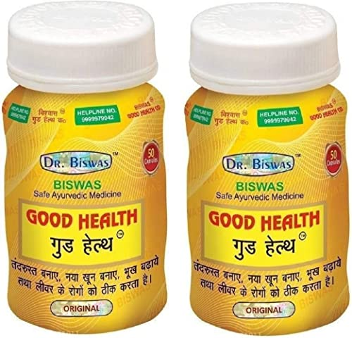 Dr Biswas Good Health 50 Capsules Pack of 2