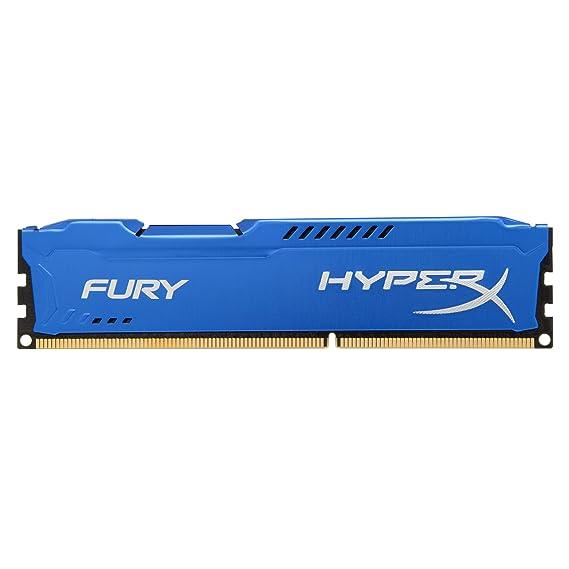HyperX Fury 8GB 1600MHz DDR3 CL10 DIMM - Blue (HX316C10F/8)