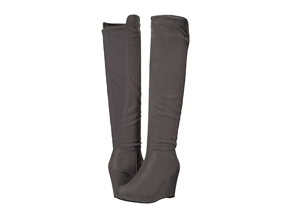 Chinese Laundry Lulu Boot (Grey Micro Suede) Women