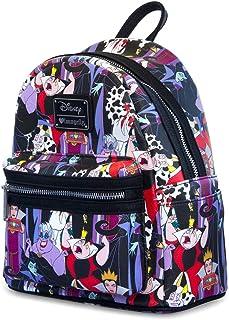 Disney Women's Loungefly X Villains Mini Backpack One Size Multi