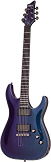 Best Schecter Hellraiser Hybrid C-1 Solid-Body Electric Guitar, UV Review