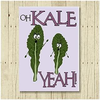 Oh Kale Yeah Funny Fridge Magnet Puns 2.5x3.5
