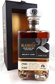 "BLADNOCH,Vibrant Stills"" Red Wine Cask, 40, 2008, 12 Jahre, 56,1%"