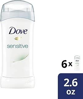 Dove Antiperspirant Deodorant Sensitive Skin 2.6 Ounce (Pack of 6)