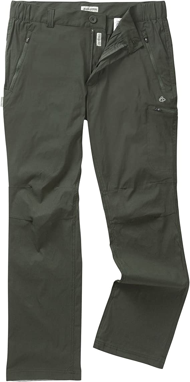 Craghoppers Mens Kiwi Pro Trs Trousers Dark Lead 36 Inch