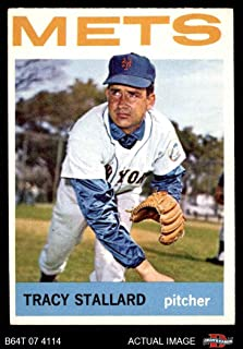 1964 Topps # 176 Tracy Stallard New York Mets (Baseball Card) Dean's Cards 4 - VG/EX Mets