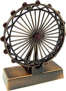TG,LLC Treasure Gurus Bronze Metal Replica Ferris Wheel Die Cast Novelty Collectible Pencil Sharpener