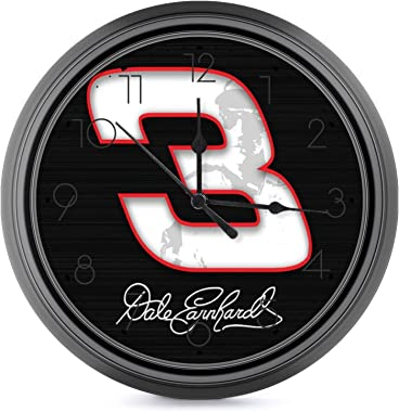 Viohik Silent Non Ticking Wall Decor Home Decor Clock Dale Earnhardt 1 Round Wall Clock European Style Wall Clock for Kitchen