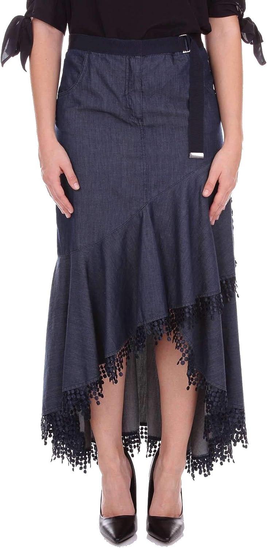 blueemarine Women's 1540221 blueee Cotton Skirt