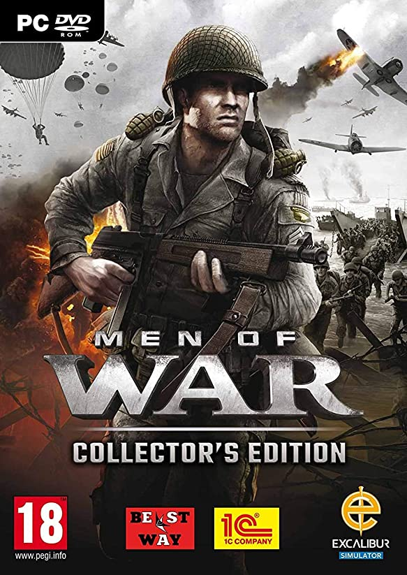 軍隊間に合わせようこそMen of War: Collector's Pack (PC DVD) (輸入版)