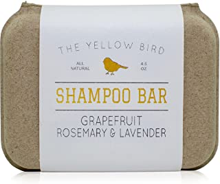 Solid Bar Shampoo Soap. Grapefruit, Rosemary, and Lavender. Mild Natural and Organic Ingredients. Sulfate Free. Gentle Sca...