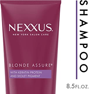 NEXXUS HAIR Blonde Assure for blonde or silver hair Purple Shampoo 8.5 oz