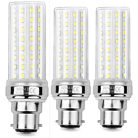 HZSANUE LED Ampoule à Maïs 20W, 150W Équivalent Ampoules à Incandescence, B22 LED Baïonnette Ampoules, 6000K Blanc Froid, 2000LM, Pack of 3