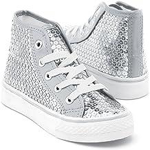 glitter high top tennis shoes