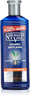 Naturaleza Y Vida Champú Anticaída Cabello Graso - 400 ml
