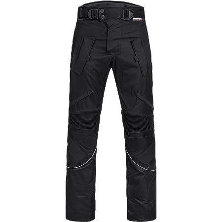 Motorradhose Für Herren Wasserdicht Cordura Textil Hose Rüstung Für Herren Und Jungen Orange Größe L Bekleidung