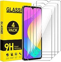 AROYI [4 Pack Vetro Temperato Pellicola Protettiva per Xiaomi Mi A3, Durezza 9H, Anti Graffio, Senza Bolle, Anti-Impronte, Alta Definizione
