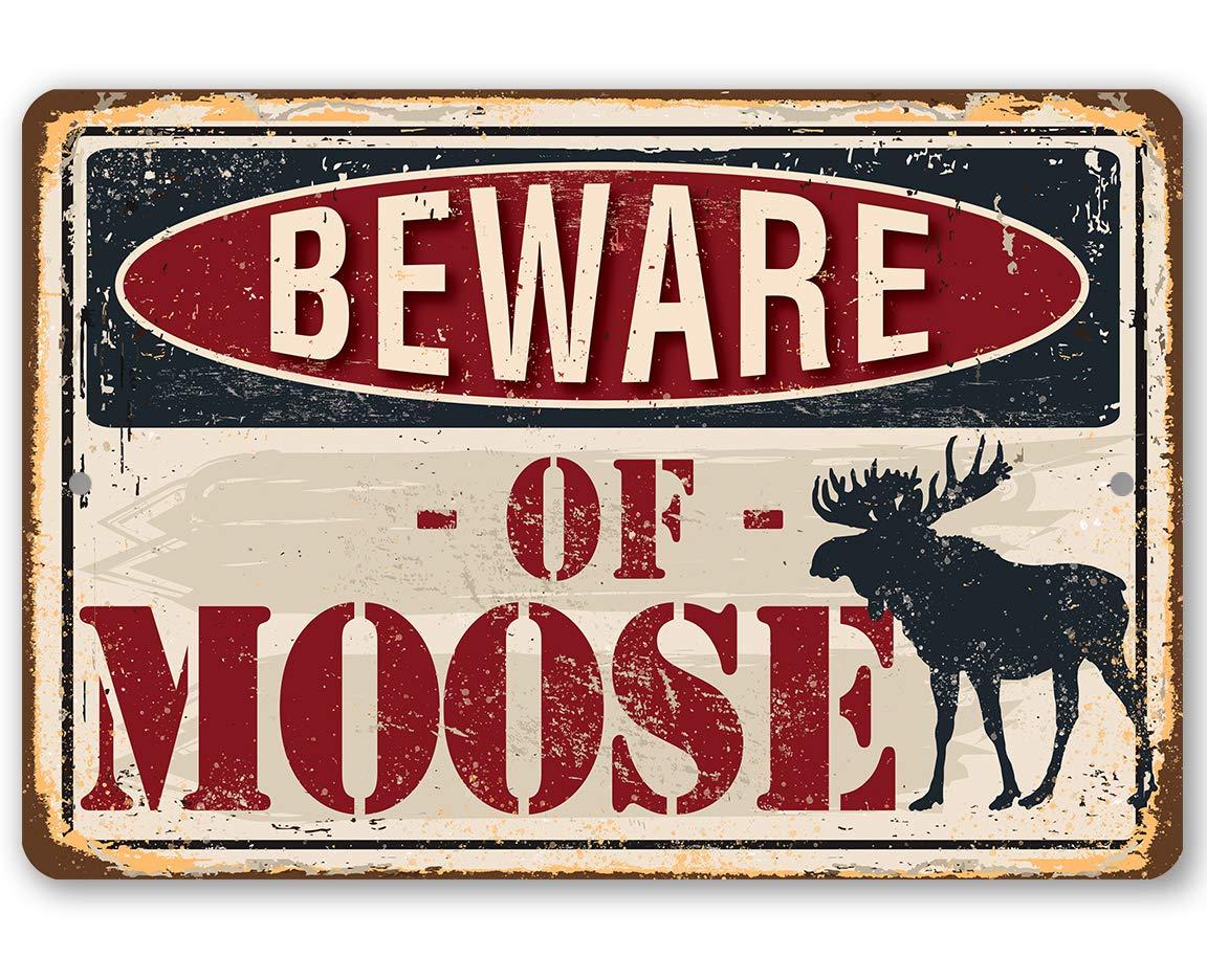 Metal Sign - Beware of Durable half Indoor Atlanta Mall Use O Moose