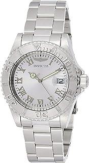 Men's Pro Diver 40mm Stainless Steel Quartz Watch, Silver (Model: 12819)